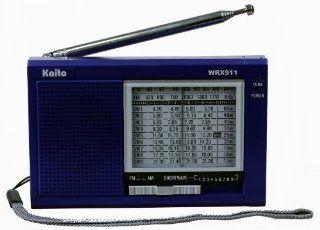 Kaito WRX 911 AM/FM Shortwave Radio, Blue: Electronics