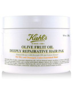 Olive Fruit Oil Deeply Reparative Hair Pak   Kiehls Since 1851