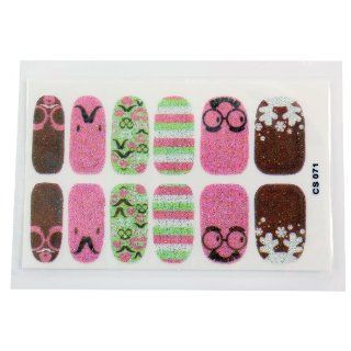 Cartoon kawaii Nail Art Decals Stickers Nail decals CS071  Beauty