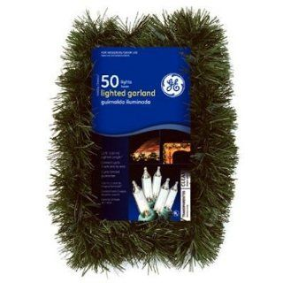 NICOLAS HOLIDAY GE84606 3.5x12 Light Garland, Clear   Outdoor Lighting