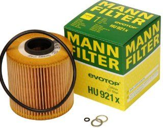Mann Filter HU 921 X Metal Free Oil Filter: Automotive