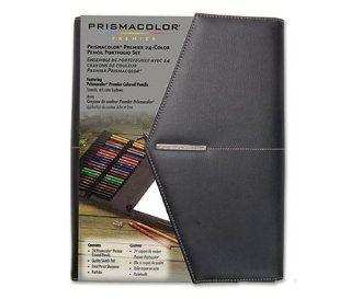 Prismacolor Premier 24 Count Colored Pencil Portfolio Set  Wood Pencils