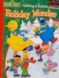 Sesame Street Coloring & Activity Book 32 Pages Holiday Book Christmas  Toys & Games