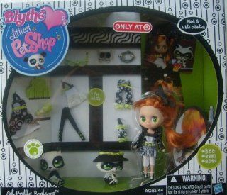 Littlest Pet Shop Blythes Black White Collection Exclusive Playset GetPretty Boutique Toys & Games
