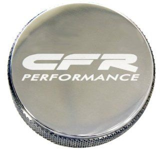 Chevy Ford Mopar Billet Aluminum Round Radiator Cap   Polished w/ CFR Logo: Automotive