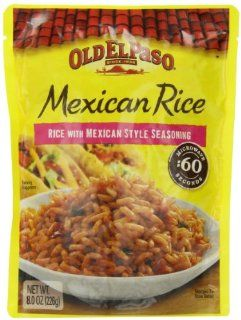 Old El Paso Mexican Rice, 8 Ounce Packages (Pack of 8) : Mexican Food : Grocery & Gourmet Food
