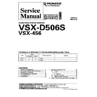Pioneer SX980 Service Manual with schematics Pioneer Books