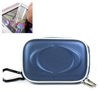 Eva Blue Sony Cybershot Cyber shot DSC W290 DSC W220 DSC T90 DSC S950 DSC T500 DSC W220 DSCW300 DSC T900 DSCW170 DSCW150 DSCW120 DSCW130 Camera Case + SCreen Guard + Cloth  Camera & Photo