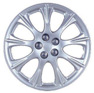 "Drive Accessories KT953 15CLS 15"" Plastic Wheel Cover, Sparkling Silver Lacquer (Alloy Color): Automotive"