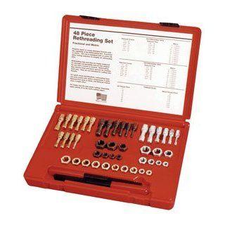 Kastar Hand Tools (KAS971) 48 pc. SAE & Metric Thread Restorer Kit   Tap And Die Sets