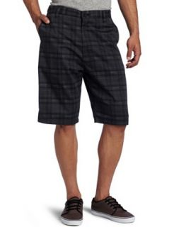Burnside Men's Saint Pigmented Chino Short, Black, 32 at  Men�s Clothing store