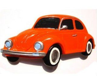Volkswagen Beetle (Ger) Orange 1985 Pink Thailand Souvenir 3D High Quality Resin 3D fridge Refrigerator Thai Magnet Hand Made Craft Kitchen & Dining