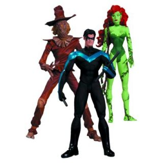 DC Collectibles Hush Scarecrow, Nightwing and Po