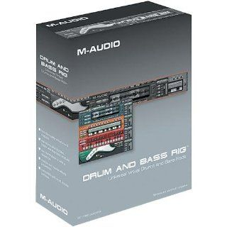 M AUDIO Midiman DRUM BASS RIG Universal Virtual Bass and Drums Rack Software: GPS & Navigation