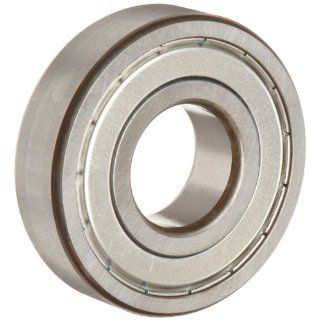 FAG 6304 2ZR C3 Deep Groove Ball Bearing, Single Row, Double Shielded, Steel Cage, C3 Clearance, Metric, 20mm ID, 52mm OD, 15mm Width, 14000 rpm Maximum Rotational Speed, 1760 lbf Static Load Capacity, 3600 lbf Dynamic Load Capacity: Industrial & Scien