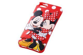 Disney Character 3D Relief iPhone 5 Case (Mickey & Minnie Mouse) Cell Phones & Accessories