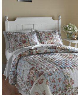 English Garden Full/Queen Quilt Set, Multi