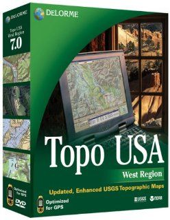 Topo USA 7.0 West Edition: Software