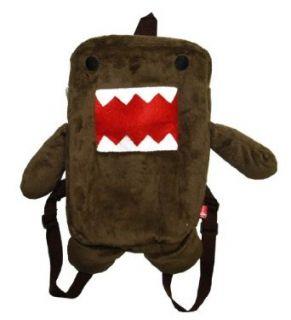Domo Kun Face Plush Stuffed Anime Cool Mini Backpack Clothing