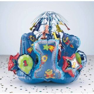 Hug And Stitches Boy   First Birthday Centerpiece: Toys & Games