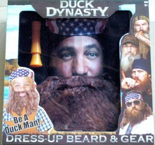 Duck Dynasty Dress Up Beard & Gear Willie: Toys & Games