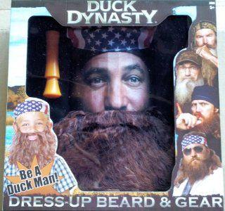 Duck Dynasty Dress Up Beard & Gear Willie: Toys & Games