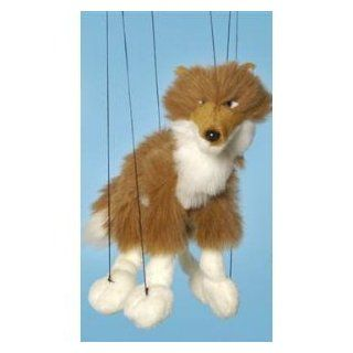 Forest Animal (Red Wolf) Small Marionette: Toys & Games