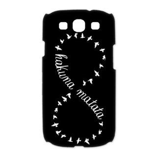 Custom Hakuna Matata 3D Cover Case for Samsung Galaxy S3 III i9300 LSM 1694: Cell Phones & Accessories