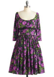 Bernie Dexter Tulip Tea Party Dress  Mod Retro Vintage Dresses