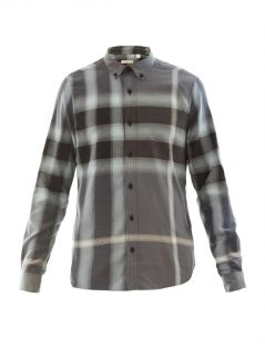 Fred flannel plaid shirt  Burberry Brit