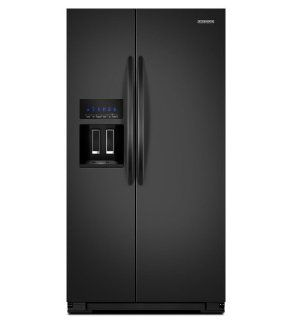 Kitchenaid KSF26C4XYB 35 1/2 Inch, 26 Cu. Ft. Standard Depth Side by Side Refrigerator: Appliances