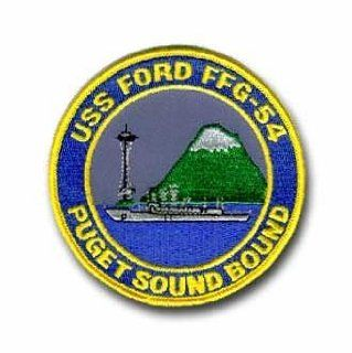 """Navy USS Ford FFG 54 Puget Sound Bound 4"""" Military Patch Automotive"""