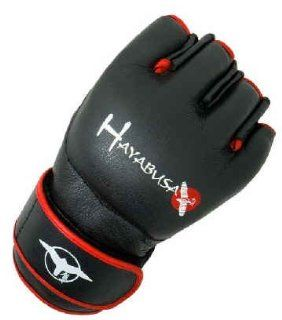 HAYABUSA FIGHTWEAR BLACK PRO MMA FIGHT GLOVES SIZE L/XL : Martial Arts Training Gloves : Sports & Outdoors