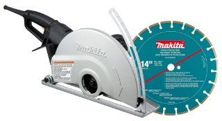 Makita 4114X 14 Inch Angle Cutter with Diamond Blade   Power Metal Cutting Saws