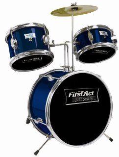 First Act FD517 5 Piece Drum Set: Musical Instruments