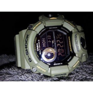 Casio G SHOCK MASTER OF G RANGEMAN Triple Sensor Ver.3 Multiband 6 Solar   Tactical Men's Watch GW 9400J 3JF (Japan Import) at  Men's Watch store.