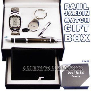 Paul Jardin Men's Watch Money Clip & Wallet Luxury CollectionSports Watch & Atomic RC Watches Also Available. Electronics