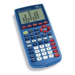 Consumer Electronic Products Texas Instruments 73/CLM/2L1/A TI 73 Explorer Blue Supply Store  Graphing Calculators  Electronics