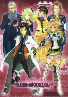 Tales of Aix Syria 2 Clear File B party members [Jude Mathis, Milla Maxwell, Alvin, Elise Rutasu, Leia Rolando, Loen J Iruberuto, Tipo] TALES OF XILLIA 2 (japan import): Toys & Games