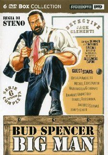 Big Man Series 6 DVD Set Bud Spencer ( Boomerang / Polizza droga / Another Falling Star / Big Man The False Etruscan / An Inusual Insurance / A Policy for Hell ) ( Big Man Boomer [ NON USA FORMAT, PAL, Reg.0 Import   Italy ] Bud Spencer, Raymond Pellegr