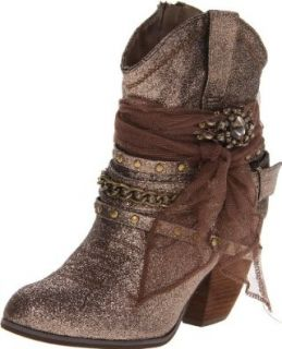 Not Rated Women's Toot Toot Bootie, Taupe, 7.5 M US: Boots: Shoes