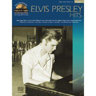Elvis Presley Hits Piano Play Along Volume 35 (Hal Leonard Piano Play Along) Elvis Presley 9780634077494 Books