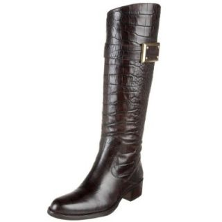 Joan & David Collection Women's Roberta Classic Riding Boot: Boots Croco: Shoes