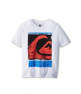 Quiksilver Kids Caption Tee Boys T Shirt (White)