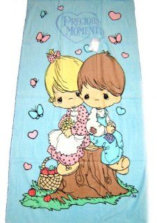 Precious Moments Beach Towel   Love One Another Baby
