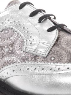 Irene leather and silk lace up shoes  Dr. Martens  MATCHESFA