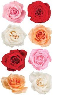 EK Success Brands Sticko Stickers, Rose Mix