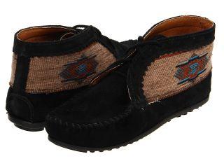Minnetonka El Paso Ankle Boot Womens Boots (Black)