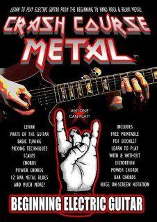 Crash Course Metal Beginning Electric Guitar Edward Phillips, Joey Sanchez Movies & TV