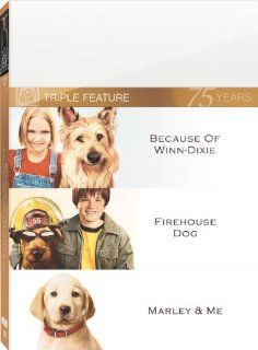 Because of Winn Dixie / Firehouse Dog / Marley & Me: Marley & Me, Firehouse Dog, Because of Winn Dixie: Movies & TV